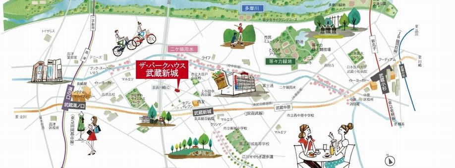 自転車用 横浜駅 自転車用品 : ザ・パークハウス 武蔵新城の ...